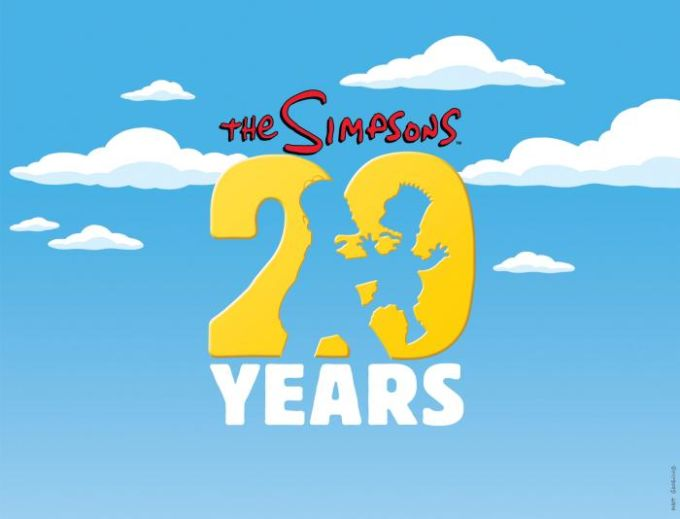The Simpsons 20 Years Papel de Parede