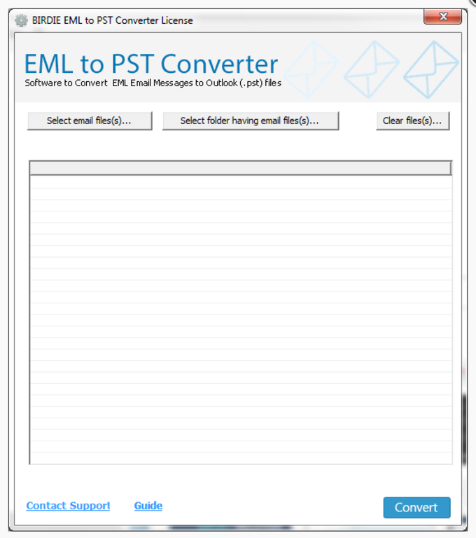 Incredia EML to PST Converter