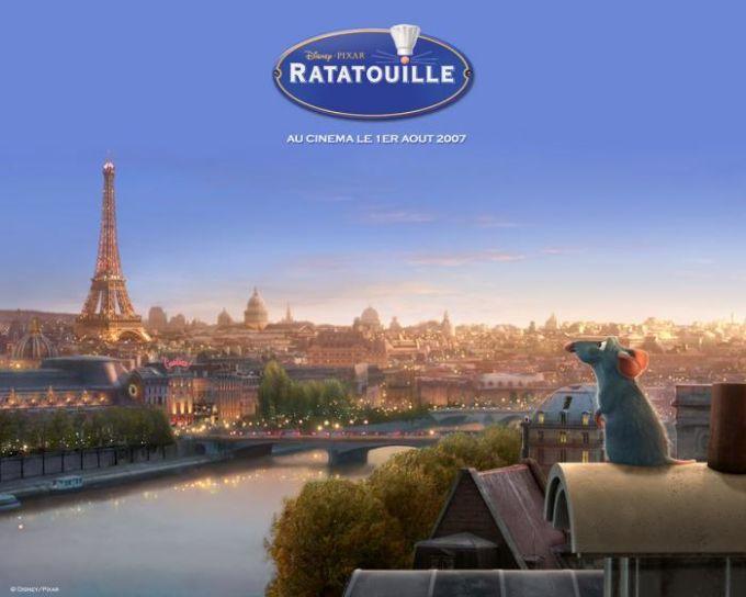 Fond d'écran Ratatouille