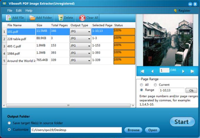 Vibosoft PDF Image Extractor