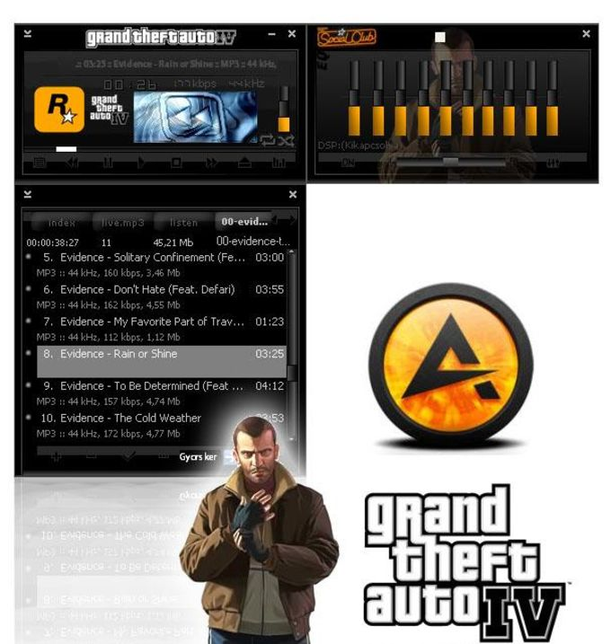 AIMP Grand Theft Auto IV