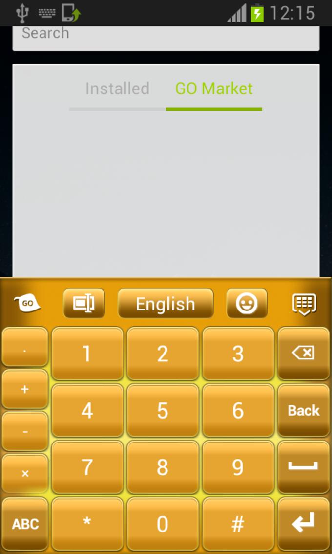 Pure Gold Keyboard