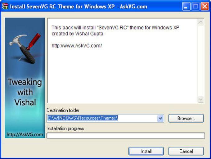 SevenVG RC Theme for XP
