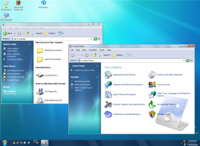 SevenVG RC (Windows 7 Theme)