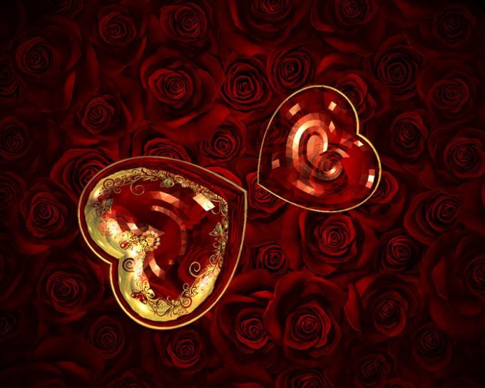 Valentine 3D Screensaver
