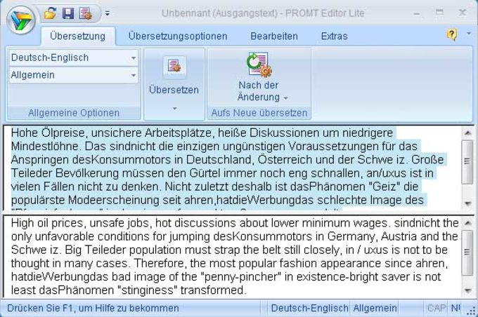 @promt Personal Englisch - Deutsch