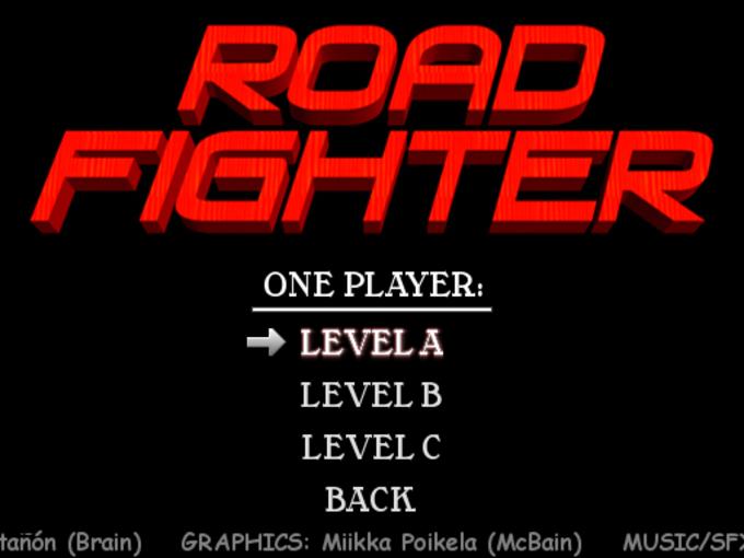 Road Fighter Remake