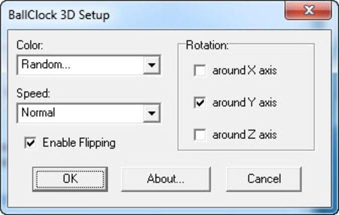 BallClock 3D ScreenSaver