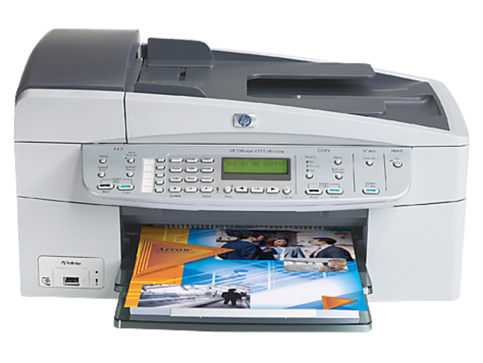 HP Officejet 6210 All-in-One Printer drivers