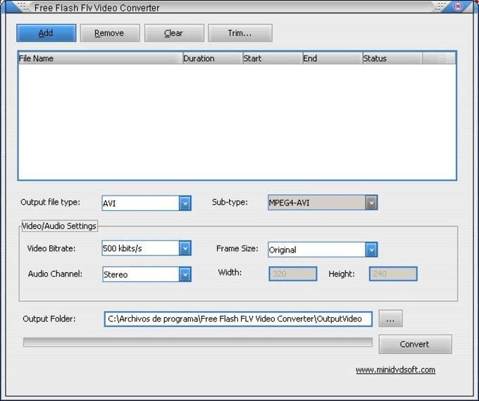 Free Flash Flv MP3 Converter