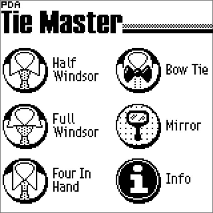 PDA Tie Master