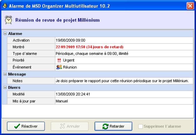 MSD Organizer MultiUser
