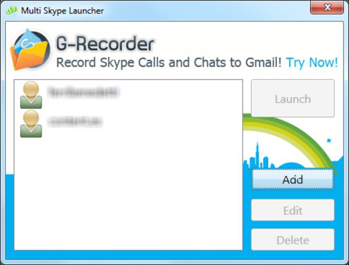 Multi Skype Launcher