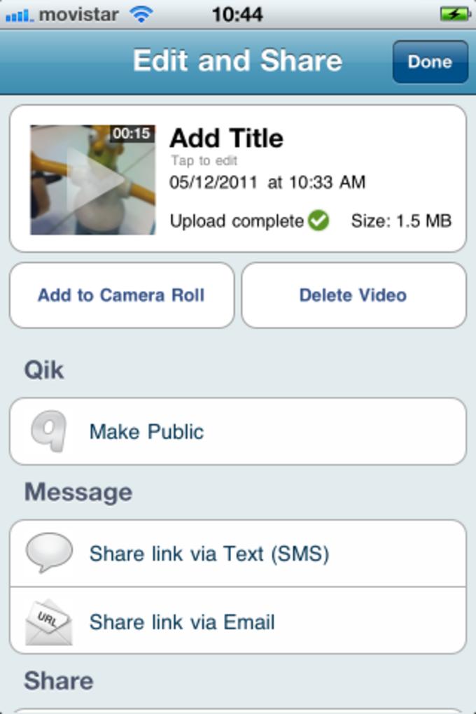 Qik Video Connect Plus