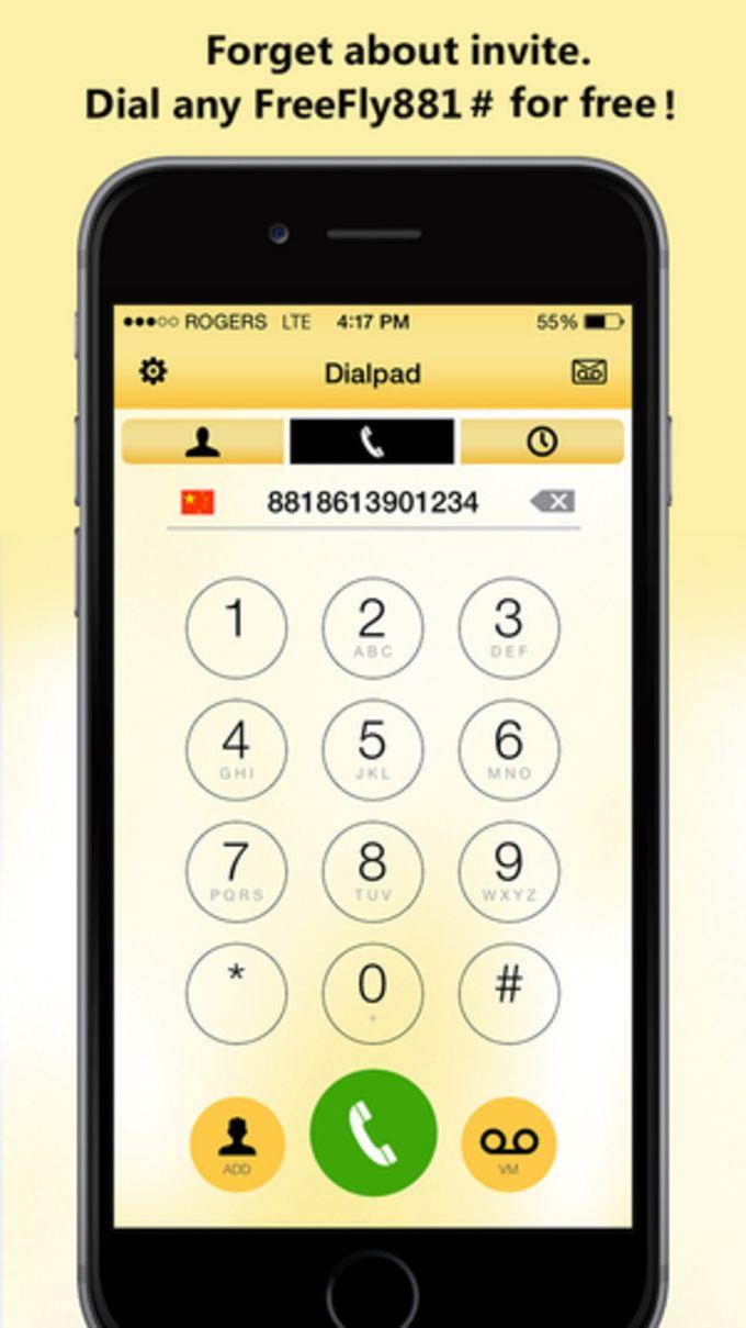 FreeFly881 - Free Calls & Global Phone Book