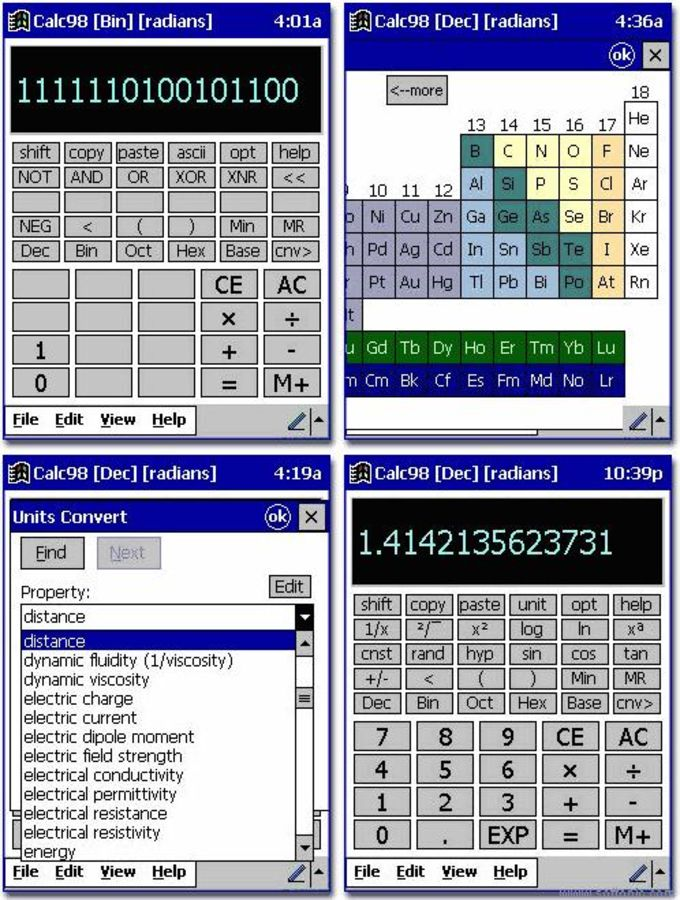 Calc98