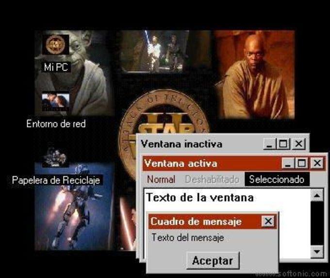 Star Wars Episode II Desktop Theme