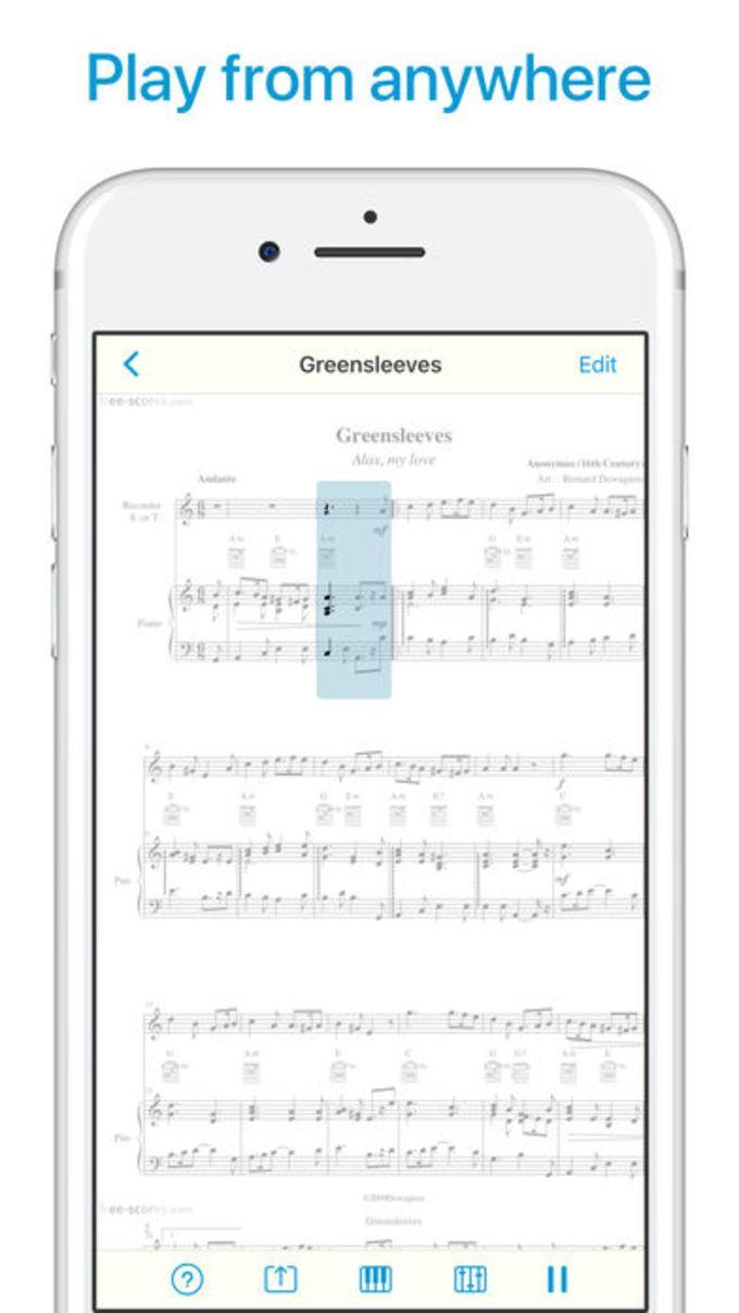 Sheet Music Scanner