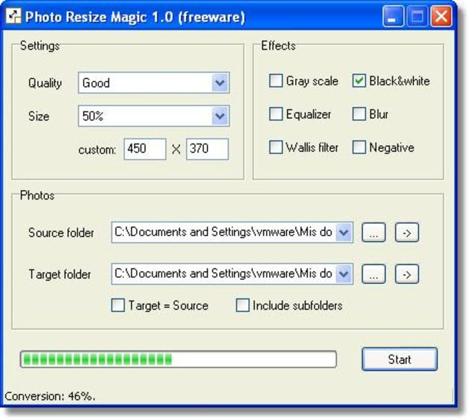 Photo Resize Magic