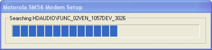 Motorola SM56 Data/Fax/Voice Universal Modem Driver