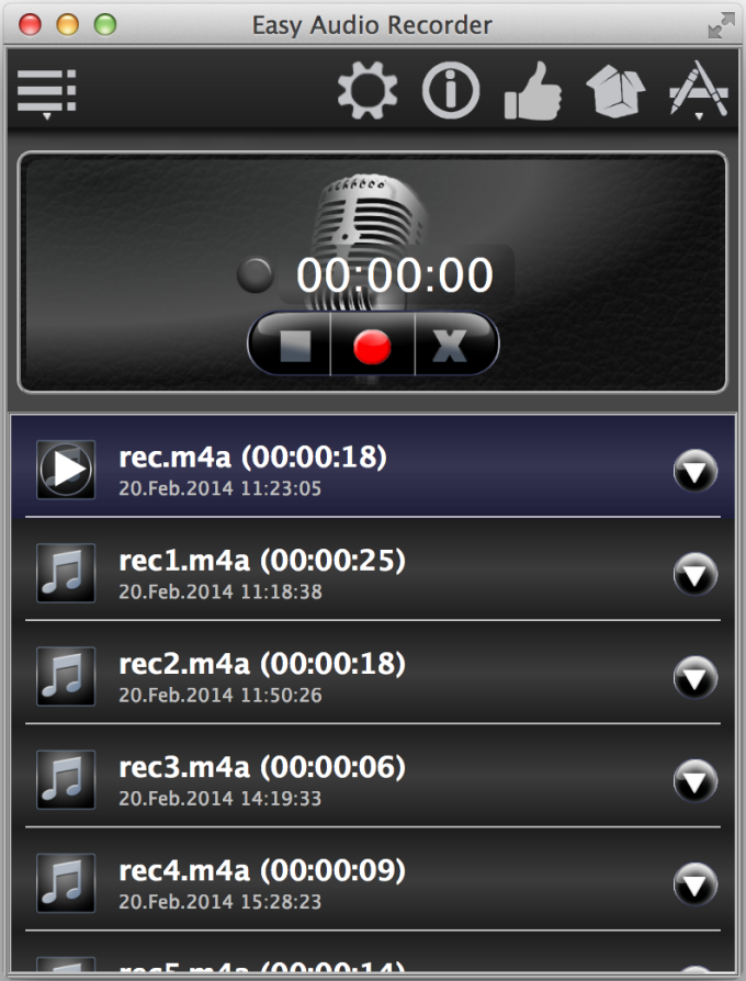 EasyAudioRecorder