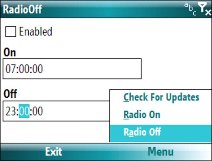 RadioOff