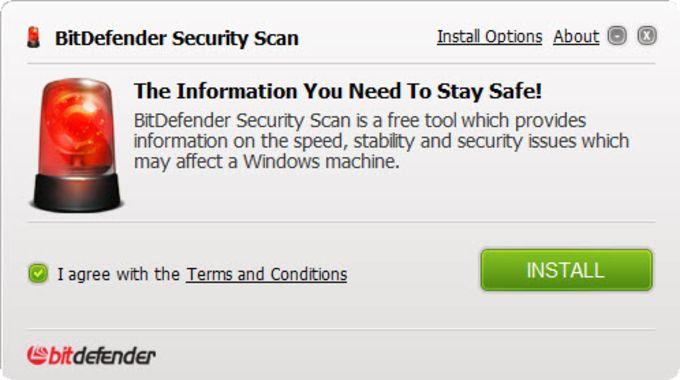 BitDefender Security Scan