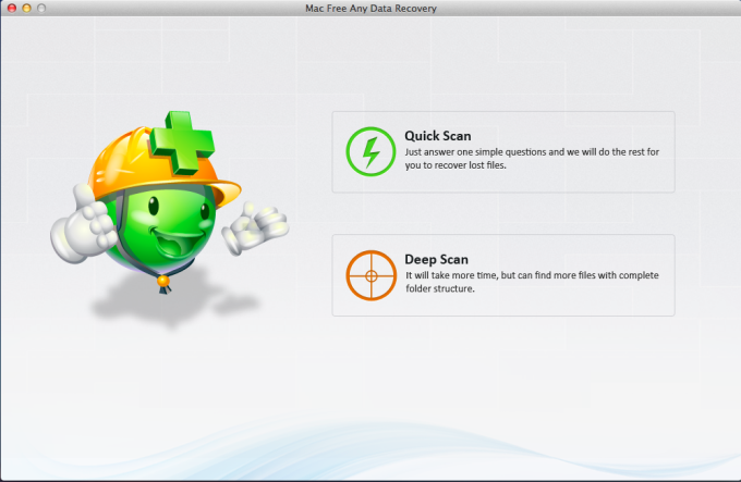 Mac Free Any Data Recovery