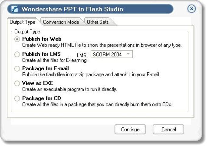 Wondershare PPT to Flash Studio