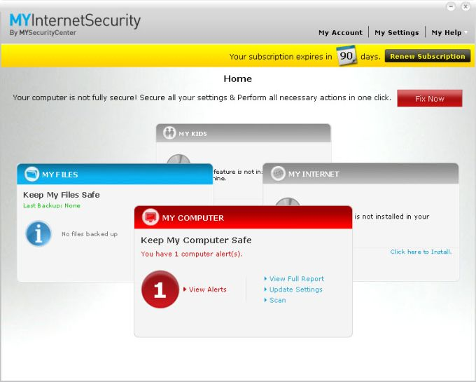 MyInternetSecurity Silver