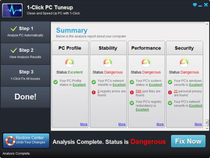 1-Click PC Tuneup