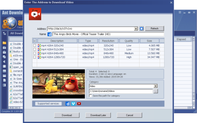 Ant Download Manager and Video Downloader