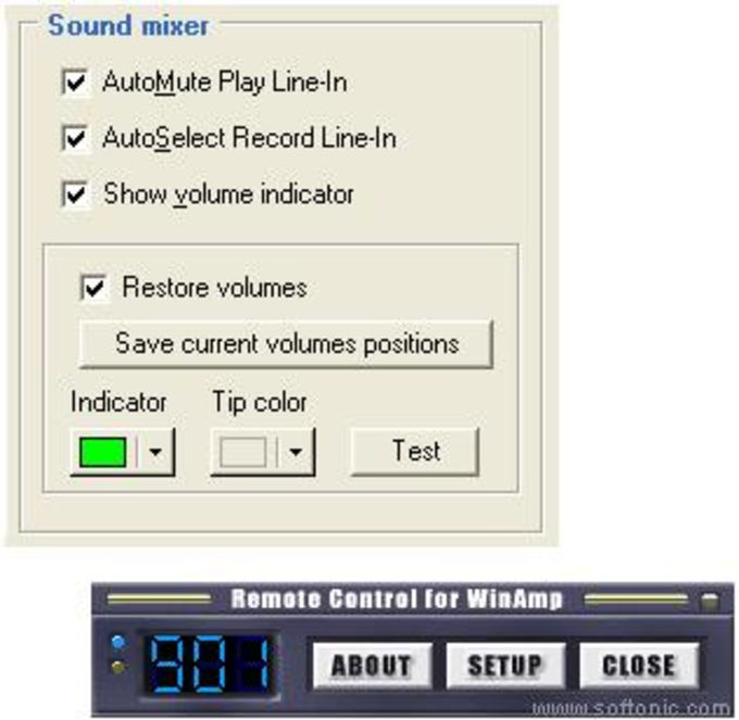 Remote Control for WinAmp (RC4WA)