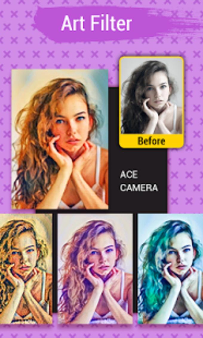 Ace Camera - Photo Editor, Collage Maker, Selfie