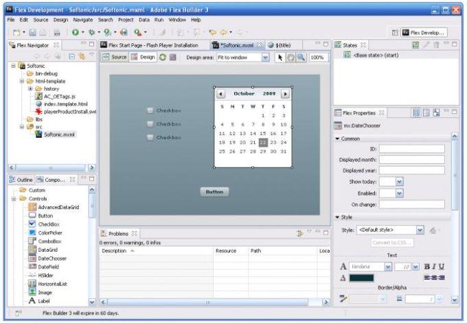 Adobe Flex Builder