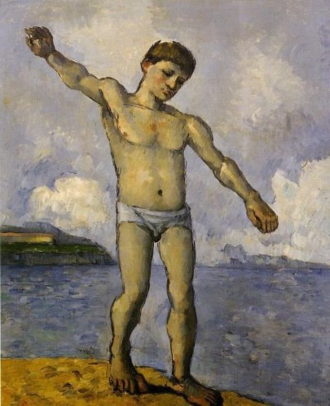 Paul Cezanne Painting Screensaver
