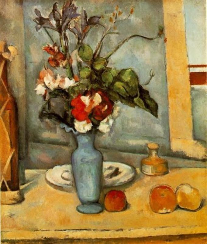 Paul Cezanne Painting Screensaver