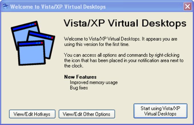 Vista/XP Virtual Desktop Manager