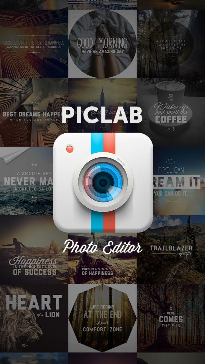 PicLab - Editeur de photos