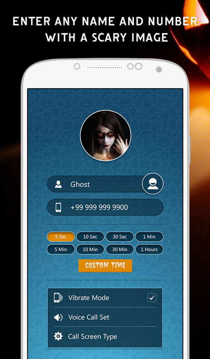 Halloween Fake Call