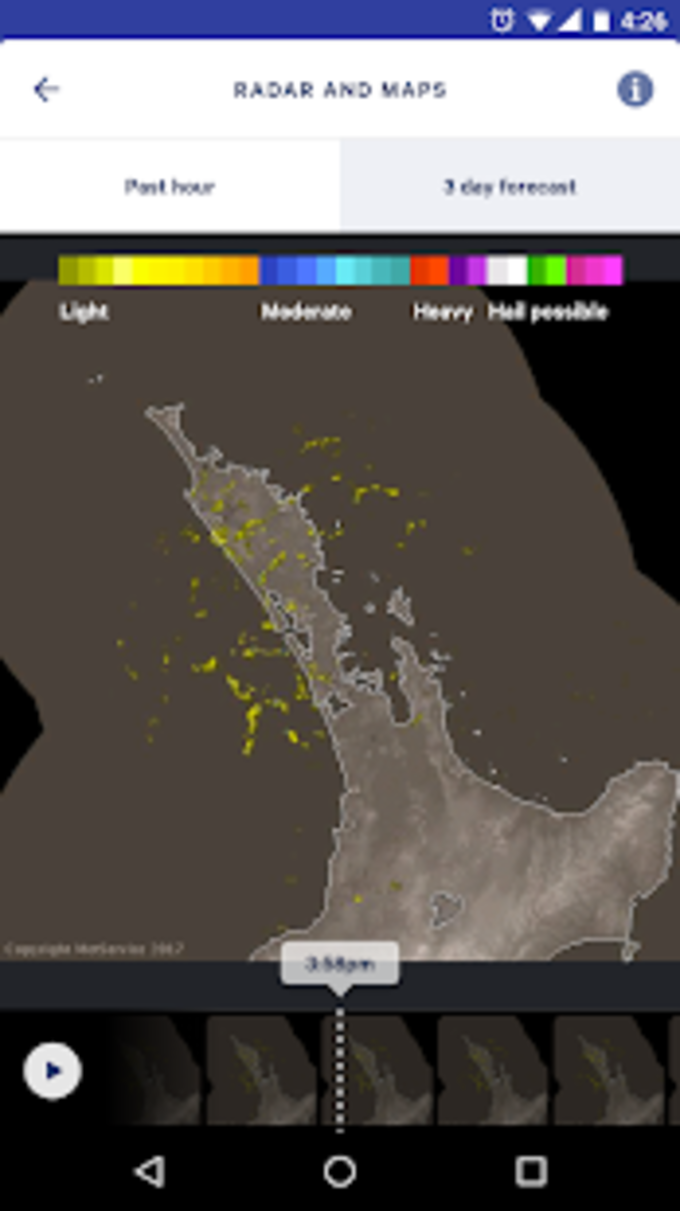 MetService NZ Weather