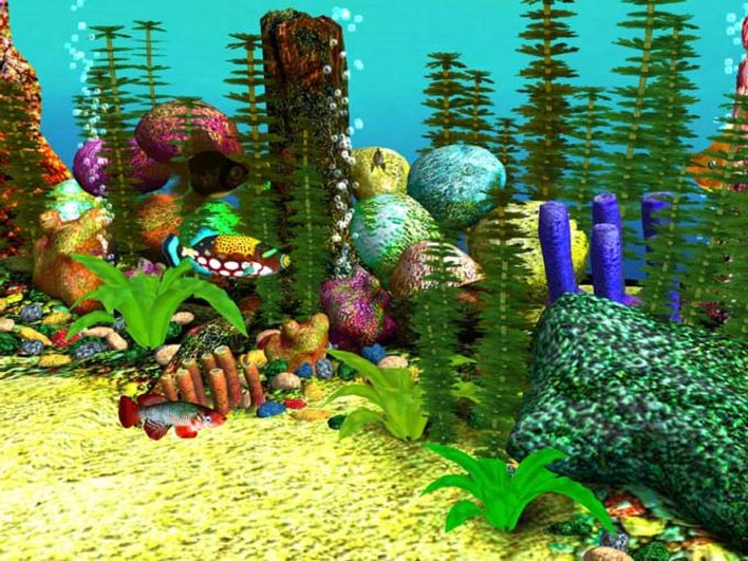 Free 3D Aquarium Screensaver