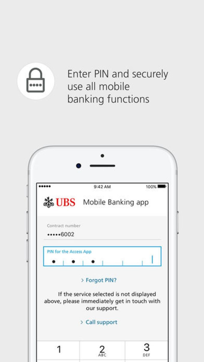 UBS Access – secure login