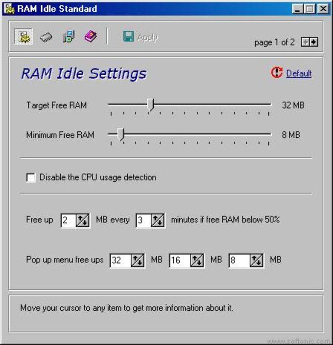 RAM Idle Pro