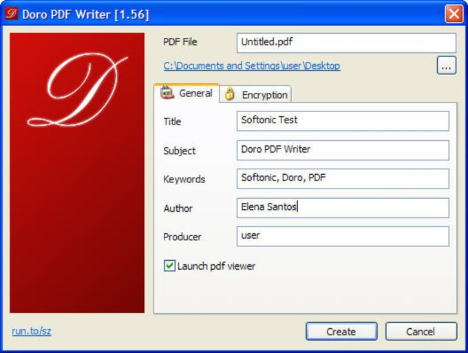 doro pdf writer download