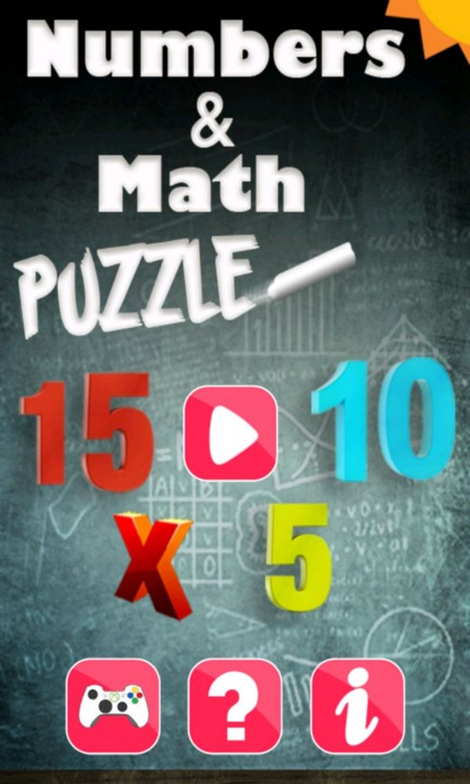 Numbers And Math Puzzle