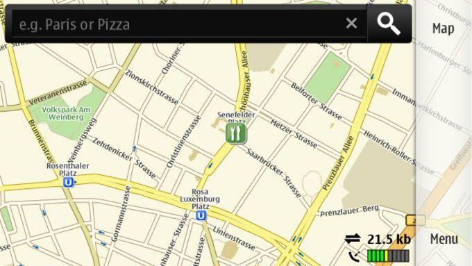 Nokia Mapas