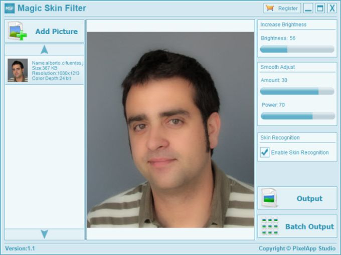 Magic Skin Filter