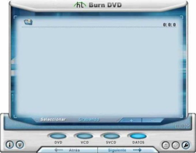 HT Burn DVD
