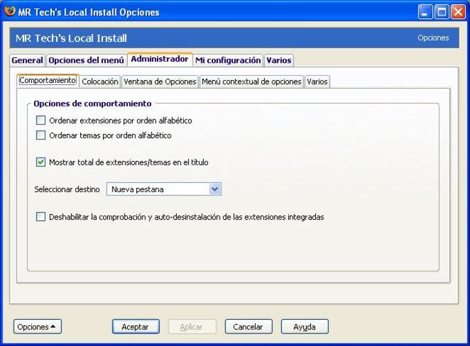 MR Tech Local Install